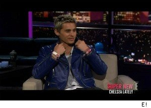 Jared Leto Gives Chelsea Handler a Sex Toy, She Mocks His Mullet