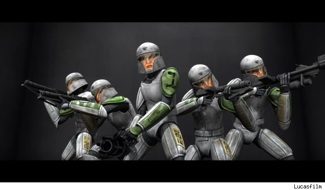 The Clone Cadets will be part of the 3rd season of 'Stars Wars: The Clone Wars.'