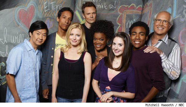 The cast of 'Community' on NBC