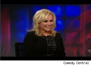 Meghan McCain Talks About Senator Dad on 'Daily Show'