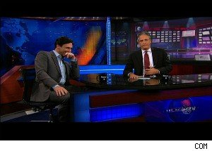 Jon Stewart Hits on Jon Hamm