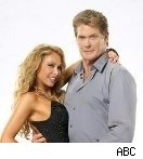 David Hasselhoff and Kym Johnson