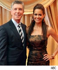 Tom Bergeron and Brooke Burke