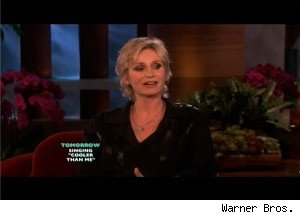 Jane Lynch Discusses Coming Out as a Lesbian, and 'Outs' Another Star