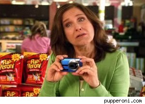 Erin Gray in a new ad f