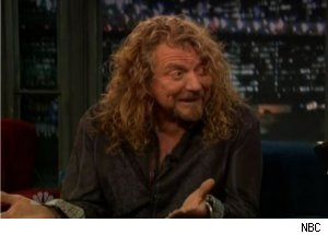 Led Zeppelin's Robert Plant Talks Glory Days on 'Late Night'