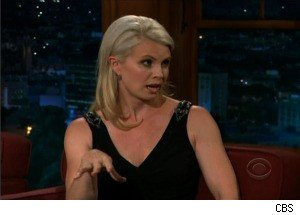 Monica Potter Talks to Craig Ferguson About Lying, Teaching Her Teenager to Drive