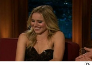 Kristen Bell Talks 'True Blood' on 'Late Late'