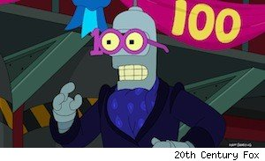 Futurama's 100th episode