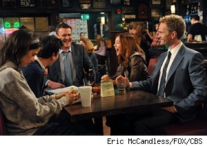 Scene from 'Big Days' - the season six premiere of 'How I Met Your Mother'