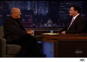 Dr. Phil, 'Jimmy Kimmel Live'