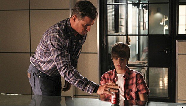 George Eads Justin Bieber CSI