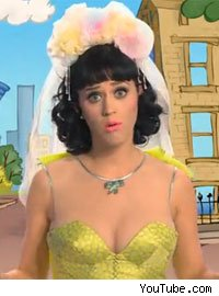 Katy Perry in 'Sesame Street'