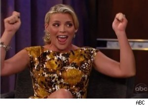 Busy Philipps Talks 'Cougar Town' Drinking on 'Jimmy Kimmel'