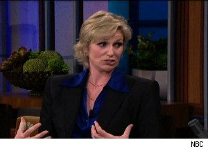 Jane Lynch: Jimmy Fallon Grabbing My Breasts 'Was Not My Idea'