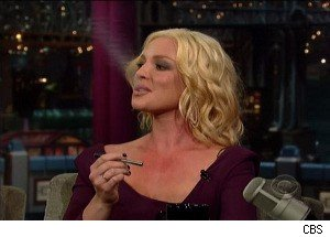 Katherine Heigl Smokes a 'Cigarette' on 'Late Show,' Discusses Fighting Her Addiction