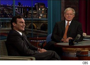 Joaquin Phoenix on Letterman: The Weird Actor Returns for Round Two
