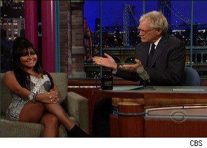 'Jersey Shore's' Snooki and David Letterman -- Together at Last!