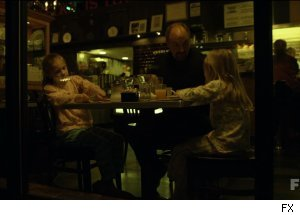 Louie shares pancakes with his daughters in 'Louie' on FX