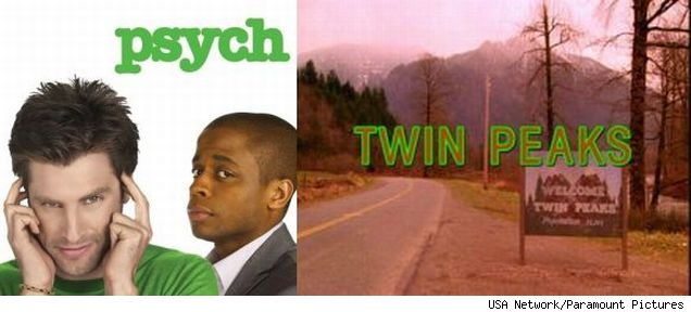 Fans of 'Twin Peaks' rejoice! 'Psych' is paying homage to the show with a number of 'Peaks' cast members.