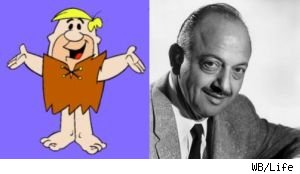 Mel Blanc was the voice of Barney Rubble for over two decades