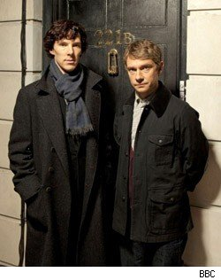 The stars of 'Sherlock'