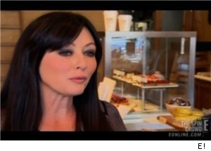 Shannen Doherty at Store Opening on 'The Spin Crowd'