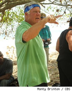 Jimmy Johnson on 'Survivor: Nicaragua' on CBS