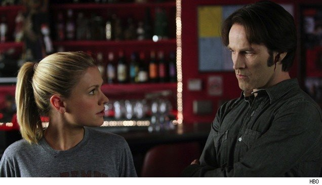 Sookie and Bill in the 'True Blood' finale.
