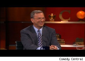 Eric Schmidt, 'The Colbert Report'