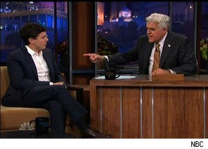 Casey Affleck, 'The Tonight Show with Jay Leno'