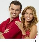 Audrina Patridge and Tony Dovolani