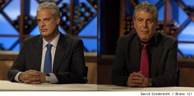 Eric Ripert and Anthony Bourdain judge 'Top Chef' - 'Gastro-nauts'