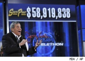 Jerry Lewis hosts the 2010 Jerry Lewis MDA Telethon