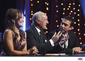 Carrie Ann Inaba, Len Goodman, Bruno Tonioli 