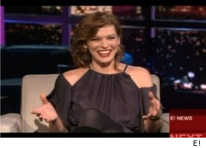 Milla Jovovich Talks Robert De Niro on 'Chelsea Lately'
