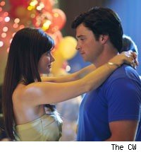 Erica Durance and Tom Welling