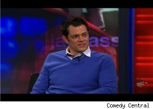 Johnny Knoxville Talks 'Jackass 3D' on 'Daily Show'