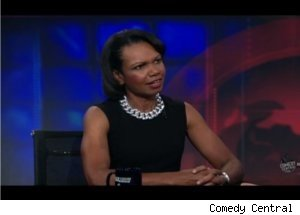 Condoleezza Rice Talks Islam on 'Daily Show'