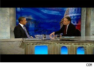Jon Stewart Critiques President Obama in 'Daily Show' Interview