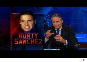 Jon Stewart Mocks Rick Sanchez, Says the Fired Anchor Was 'Flawed'