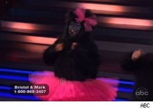 Bristol Palin Wears a Monkey Suit on 'Dancing With the Stars'