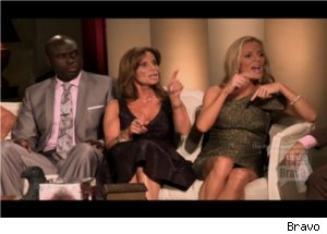 Lynda, Cat Argue with Tareq on 'Housewives' Reunion
