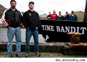 Crew of 'Time Bandit'