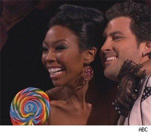 Brandy and Maks act like 'Friends'
