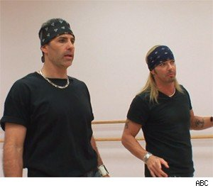 Bret Michaels teaches Kurt Warner the art of Rock
