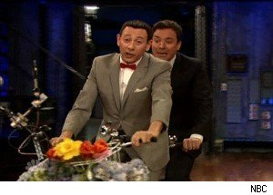 Pee-wee Herman Goes on a 'Big Adventure' With Jimmy Fallon