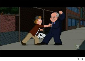 'Family Guy': Rush Limbaugh Guest Stars -- and Kicks Some Butt