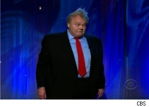 Louie Anderson Does 'Twilight' on 'Late Late Show'