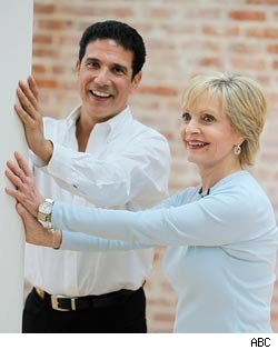 Florence Henderson, Corky Ballas